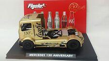 FLYSLOT TRUCK MERCEDES COKE LIGHT LTD. EDITION 130 ANIVERSARY - SCALEXTRIC-NEW!