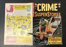 CRIME SUSPENSTORIES - FRONT & BACK COVER ONLY #23