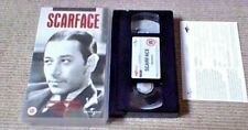 SCARFACE 4FRONT UK PAL VHS VIDEO 2000 Paul Muni Boris Karloff Howard Hawks Crime