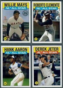 2021 Topps Series 2 1986 Topps Baseball All-Star Insert ~ You Pick!