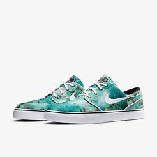 Nike SB Stefan Janoski PR QS Tie Dye Green 678472-317 Mens Sz 10.5 Skateboard