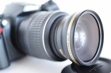 Wide Angle Macro Close Up Semi Fisheye Lens for Nikon D3300 D50 D5300 D D3400
