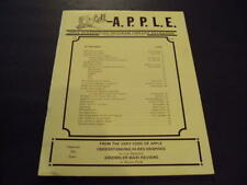 Call Apple Jan 1980  Bytes From The Apple, Apple Doc  ID:41651
