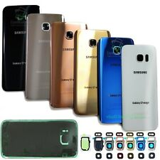 For Samsung Galaxy S7/S7 Edge Replacement Back Glass+Camera Lens Cover+IP68 Tape