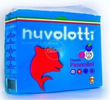 Cartone Da 220 Pannolini Per Bambino Nuvolotti New Born Prima Misura Da 2/5Kg -