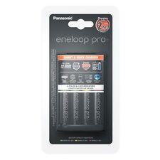 Panasonic cargador Smart & Quick Charger bq-cc55e + 4x Eneloop pro batería AA