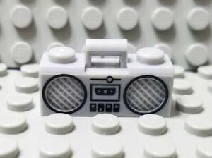 LEGO Light Bluish Gray City Minifigure Boombox Radio Accessory