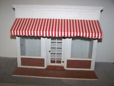 1:12 Vintage OOAK Irv Turbull Roombox Store Front Dollhouse Miniature Real Glass
