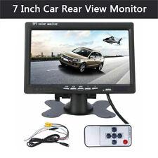 7 Inch TFT LCD Car Rear View Monitor Parking Display Reverse For Backup Camera