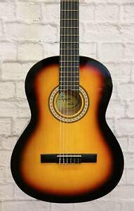 Fender Squier SA-150 Classical Guitar - Sunburst (finish cracked)