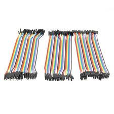 120pcs 20cm 2.54mm M/M M/FM FM/FM 1 Pin Jumper Wire Jumper Cable for Arduino