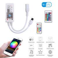 WiFi Controller IR RF Remote for RGB/RGBW LED Strip Light By Alexa Google Home