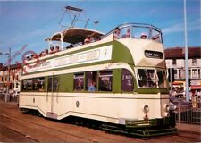 Picture Postcard:-Blackpool Tram 706 'Princess Alice'