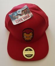 Bioworld Official Marvel Iron Man Snapback Cap Captain America Civil War