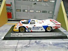 PORSCHE 956 Langheck L Le Mans #19 Brun Blanchet Boutsen The Minichamps SP 1:43