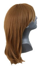 New Junee Fashion Manhattan Human Hair Mix Full Wig Rich 3 Red Strawberry