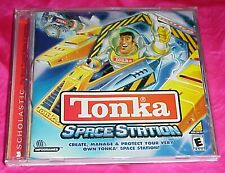 TONKA SPACE STATION WINDOWS PC CD-ROM VIDEO GAME & MANUAL COMPLETE