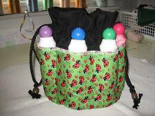 Bingo Bag  LADYBUGS  top  8 pockets