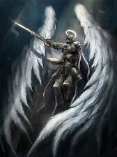 ART PRINT POSTER PAINTING DRAWING FANTASY MEDIEVAL WARRIOR KNIGHT LFMP1043