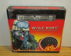Red Wolf King Warrior FPS Gaming Pad First Person Shooter Game Pad New Open Box