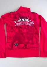 Blac Label Pink Jacket Womens SZ S Turnbull Hardheads Sewn Embroidered Star