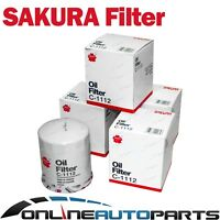 4 Oil Filters suits Landcruiser 80 100 Series 1HZ 4.2L 1HDT HDJ80 HDJ100 HZJ105