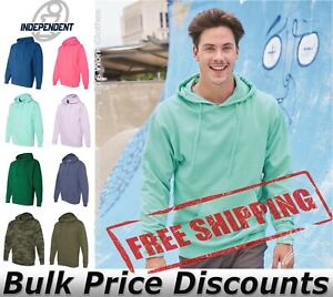 Independent Trading Co Midweight Hooded Pullover Sweatshirt SS4500 up to 3XL