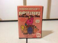 Mirrorsoft first steps mr men Amstrad CPC 464 Retro Game Tape Cartridge