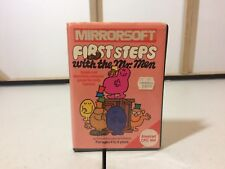 Mirrorsoft first steps mr men Amstrad CPC 464 Retro Game Tape Cartridge