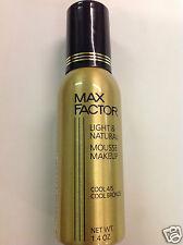 Max Factor Light & Natural Mousse Foundation Makeup Cool 4/5- Cool Bronze 1.4 oz