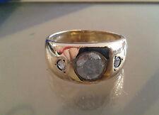 10K Yellow Gold 1.35 CTW Men's Diamond Ring -Wholesale Price- Free Shipping !!