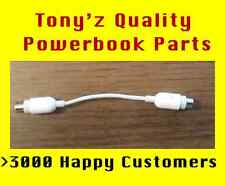 Apple PowerBook G3 G4 RCA to S-Video Cable, All Speeds TV Display Adapter
