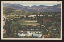 Postcard Pasadena Ca Brookside Park Aerial View 1920's?