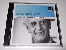 Haydn: Symphonies No. 88, 94 & 104 - Wilhelm Furtwangler (CD, 2012) new