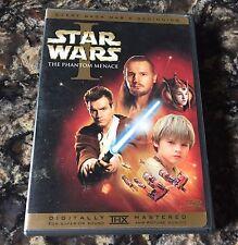 RARE Star Wars Episode I: The Phantom Menace (DVD, 2-Disc Set, Widescreen)