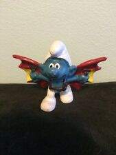 Vintage 1978 Peyo Smurf Figure 2.0036 Hang Glider Smurf