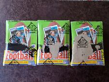 (1) 1987 Topps Football Unopened Box **BBCE Authenticated** 36 Wax Packs