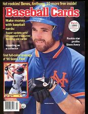 Baseball Cards Magazine March 1990 Will Clark w/Mint Cards jhscd3