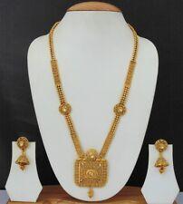 Indian Bridal Designer Plated Kundan Bollywood Fashion Jewellery Set