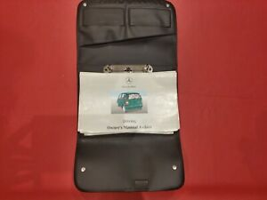 1997 - 2001 Mercedes A Class Owners Manual, Interior, Wallet, Service Book 1998