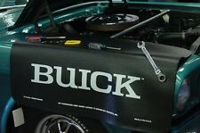 Black Buick car mechanics fender cover paint protector vintage style