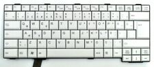 QWERTY TR Tastatur Fujitsu Siemens weiss für LIFEBOOK S 760 761 781 E 751 NEU