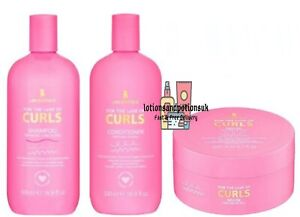 Lee Stafford FOR THE LOVE OF CURLS Shampoo, Conditioner 500ml AND Mask 200ml