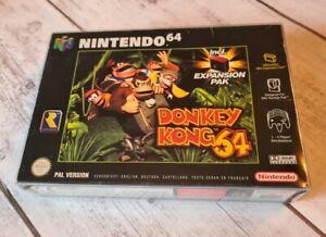 N64 Donkey Kong 64 inkl. OVP & Anleitung CiB