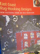 East Coast Rug-Hooking Designs Paperback, Deanne Fitzpatrick-New Patterns From A