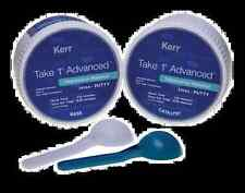 TAKE 1 ADVANCED PUTTY KERR  2x400gr. DENTAL SILICONE SILICONA.
