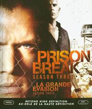 Prison Break - Season 3 (Bilingual) (Blu-ray)  New Blu