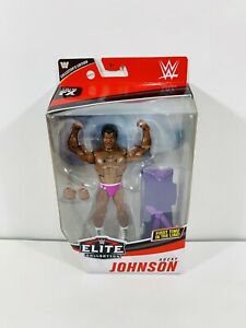 WWE Elite Series 80 Rocky Johnson Collectors Edition Mattel In Hand