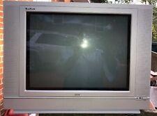 "Retro Tube RCA 20F512T 20"" Truflat CRT SDTV Flat  Gaming N64 AV INPUTS Clean"