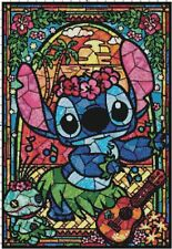 Lilo and Stitch Stained Glass Collage Cross-Stitch Pattern - BUY 3, GET 3 FREE!